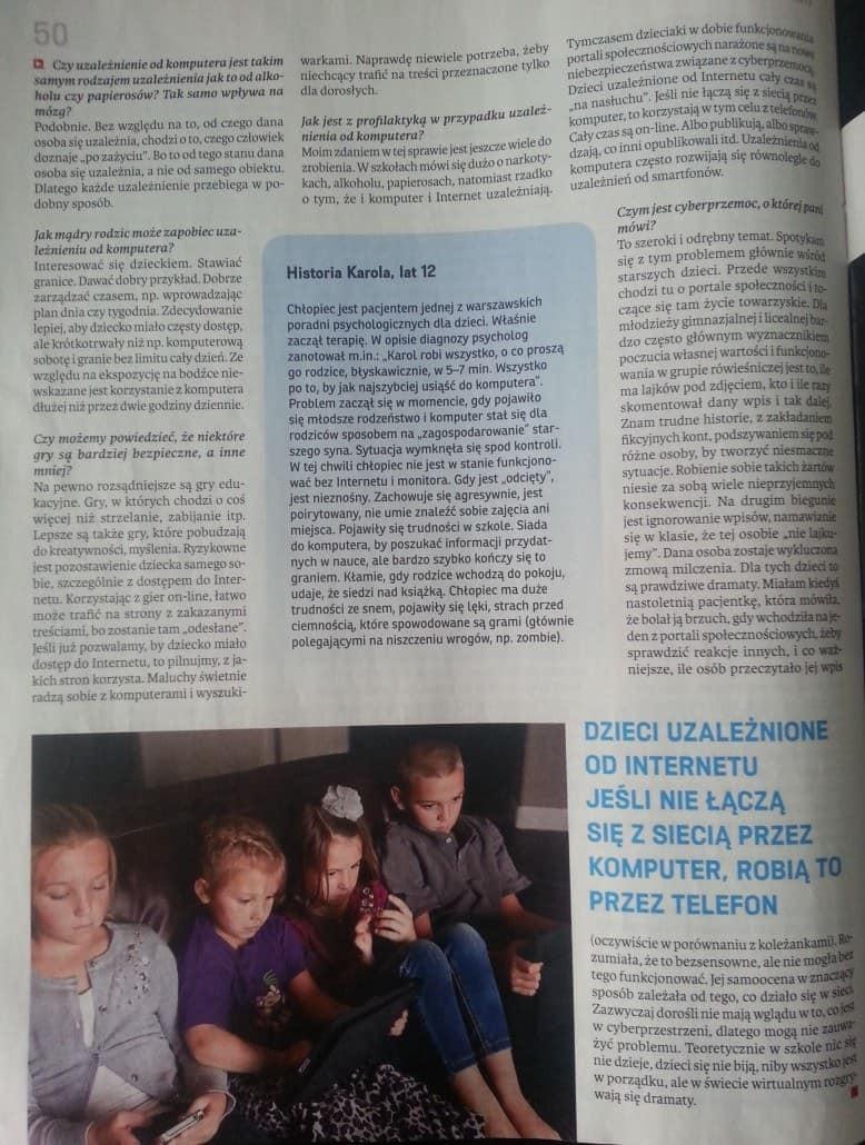 """Dzieci uzależnione od internetu - Marta Dzitkowska """"wSieci"""""""