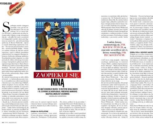 Marta Mauer-Włodarczak w miesięczniku Pani
