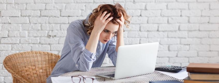Kolejna porażka w pracy niszczy mnie i prowadzi do depresji